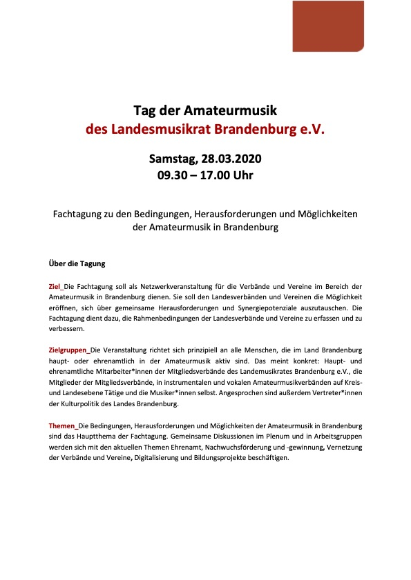 20200110 Save the date Tag der Amateurmusik